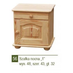 SZAFKA NOCNA ''1'' NR- 56
