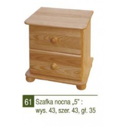 SZAFKA NOCNA ''5'' - NR 61