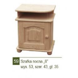 SZAFKA NOCNA ''6'' - NR 59