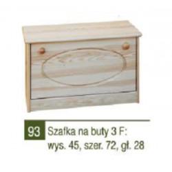SZAFKA NA BUTY 3F - NR 93