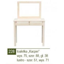 TOAlETKA KACPER / LUSTRO