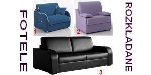 fotele rozkładane